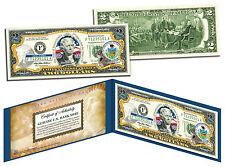 PENNSYLVANIA Statehood $2 Two-Dollar Colorized U.S. Bill PA State *Legal Tender*