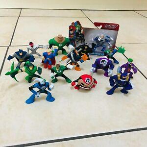 """Mattel DC Universe Action League Mini 2"""" Figures Bundle Batman, Superman, Joker"""