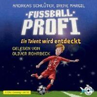 ANDREAS SCHLÜTER/IRENE MARGIL - FUßBALLPROFI.EIN TALENT WIRD ENTDECKT  2 CD NEW
