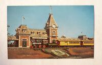 Disneyland Postcard, Disneyland Entrance, #P12945 - Vintage Unused Giant 1955