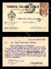 Moncalieri (TO) - Fbbrica Italiana Cerate - 2.5.1925
