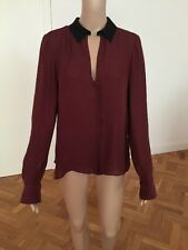 ALC Womens Silk Blouse Size Small Worn Once Immaculate
