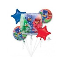 Party Supplies Birthday Boys Disney PJ Masks Foil Balloon Bouquet