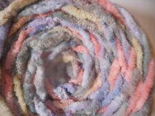6.5 oz. Cotton Chenille yarn  bulky Pastels