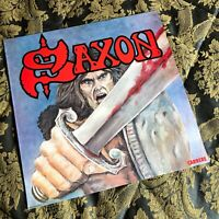 SAXON debut LP Vinyl Heavy Metal NWOBHM M-/M- CARRERE made in Italy