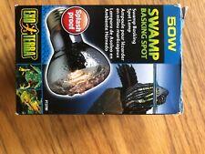 New listing Exo Terra Spot Lamp 50 Watt Pet Reptile Light Bulb Swamp Basking Splash proof