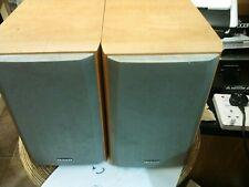 Aiwa SX-LEM50 Pair of Matched Bookshelf Stero Audio Speaker 6.0 OHM Working