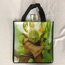 Star Wars Fighting Yoda Reusable Polypropylene Shopper Tote Bag New 13x13