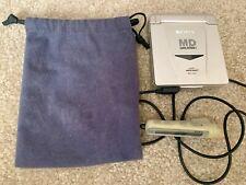 Sony Mz-E33 Minidisc Walkman Player/Recorder & Rm-Mze33 Wired Remote w/ Bag