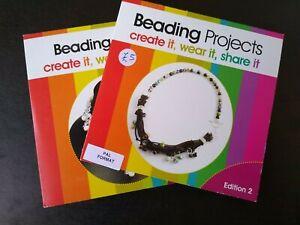 2 DVD's - Beading Projects (Edition 2 & 3) tutorials by Linda Brumwell Sheila Da