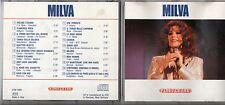 MILVA raro CD Omonimo 1987 FUORI CATALOGO same MADE in ITALY 20 tracce