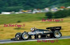 Nigel Mansell JPS Lotus 95T Austrian Grand Prix 1984 Photograph 2