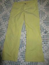 euc Lilly Pulitzer yellow fine cord pants girls 5 free ship Us