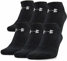 Under Armour Youth Boys Charged Cotton Training Crew Socks 6pk Black