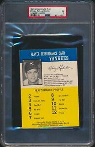 1964 Challenge the Yankees Game Bobby Richardson PSA 5 - read description
