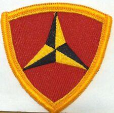 3rd Marine Division Iron-On Patch USMC Emblem