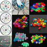 Boys/Girls Children 36Pcs Bike Bicycle Wheel Spoke Beads Clip Colored Decoration