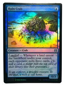 MTG. Zendikar Rising. ZNR. 75. Ruin Crab. Foil.