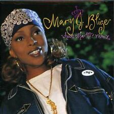 Mary J. Blige - What's the 411 Remix Album [New CD]