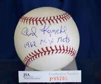 Rod Kanehl Jsa Hand Signed Major League Autograph Baseball Authentic