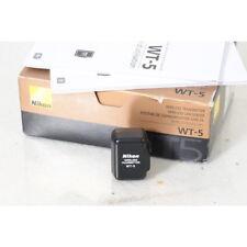 Nikon Wireless-Lan-Sender/Trasmettitore Wt-5 per D4