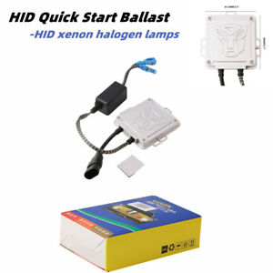 HID Quick Start Ballast Kit For All Sizes Of Halogen Lamps HID Xenon Lamp