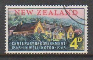 New Zealand - 1965, Gout in Wellington stamp - F/U - SG 830 (b)