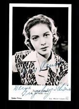 Ingeborg Schöner Kolibri Autogrammkarte Original Signiert # BC 50535