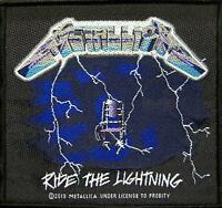 "METALLICA PATCH / AUFNÄHER # 16 ""RIDE THE LIGHTNING"""
