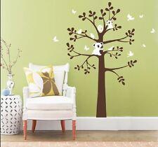 Koala butterfly bird tree sticker wall Decal Removable Art Vinyl Large kids Nurs