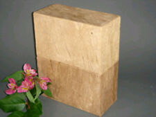 Biodegradable Eco-Friendly Adult Funeral Cremation Urn w. Wood Grain Bark Finish