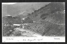 El Zig Zag Estacion Railway Station Venezuela ca 1899