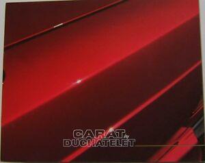 Mercedes Benz 190 Carat by Duchatelet Conversions Original Dutch Sales Brochure