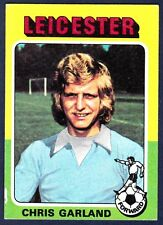 TOPPS 1975 FOOTBALLERS #165-LEICESTER CITY-CHRIS GARLAND
