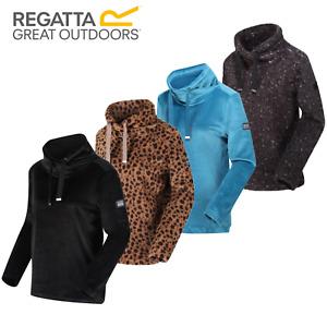Regatta Hannelore Womens Jumper Sweatshirt Hoodie Hooded Fleece Jacket RRP £40