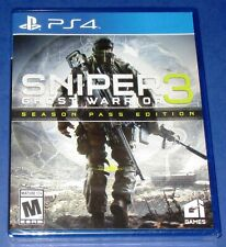 Sniper: Ghost Warrior 3 -- Season Pass Edition  PS4 *New! *Sealed! *Free Ship!