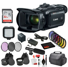 Canon Vixia Hf G50 Uhd 4K Camcorder (Black) (3667C002) with Accessory Bundle