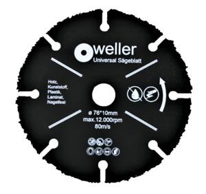 Multi Wheel Trennscheibe Sägeblatt passend für Bosch GWS 12V 10,8V 76mm