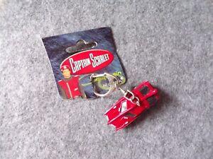 1999 Gerry Anderson's Captain Scarlet SPC PVC Model Keychain, Sci-Fi Memorabilia