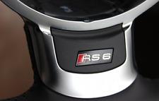Audi A6 S6 RS6 4F C6 04-11 steering wheel badge sticker OE logo Lenkrad S-Line s