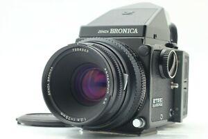 Getestet! { Optischer Mint } Zenza Bronica Etrs + Eii 75mm F/2.8 + Prism Finder