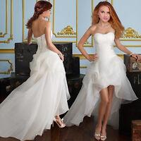 Hochzeitskleid Brautkleid Kleid Braut Ballkleid Abendkleid weiß creme NEU BC284