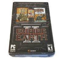 Empire Earth II Platinum Edition PC 3 CD-ROM Game Strategy Guide Box Reference
