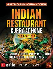 Misty Ricardo's Curry Kitchen - Indian Restaurant Curry at Home Vol.2 Cook Book