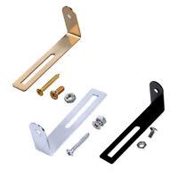 3 Pcs Guitar Pickguard Bracket with Screws Gold Black Chrome for Electric Parts