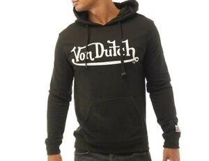 Von Dutch Men's V-Resistance Hoodie Black S,M,L,XL,XXL