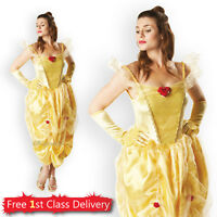 Adult Belle Fancy Dress Costume from Beauty and Beast Disney Licensed Outfit