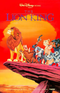 """The Lion King (11"""" x 17"""") Movie Collector's Poster Print (T2)- B2G1F"""