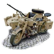 Italeri 1:9 Scale German Military Motorcycle and Sidecar