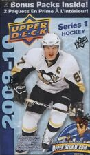 2009/10 Upper Deck Series 1 Hockey 12 Pack Box Factory Sealed
